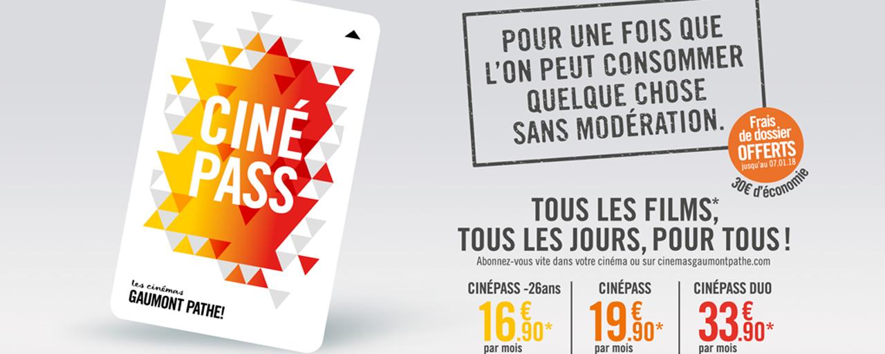 Cinepass L Abonnement Disponible Dans Tous Les Cinemas Gaumont
