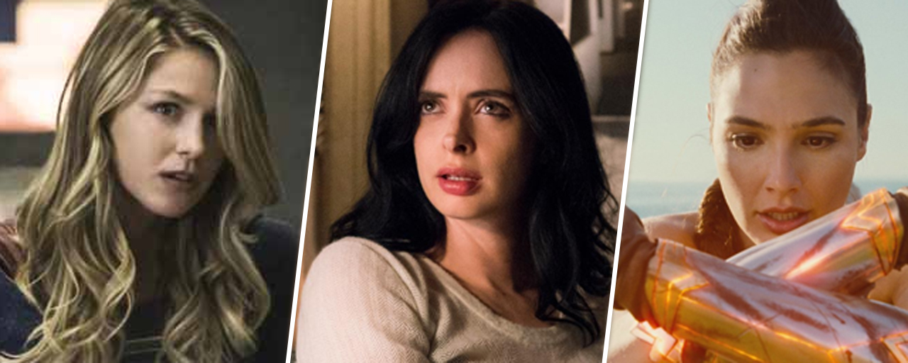 Wonder Woman, Jessica Jones, Supergirl... les origines des 5 super-héroïnes du moment