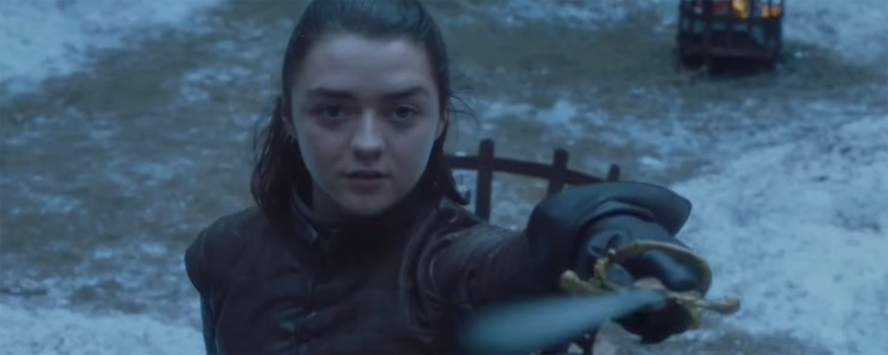 Game of Thrones : Maisie Williams fait de sanglants adieux à la série