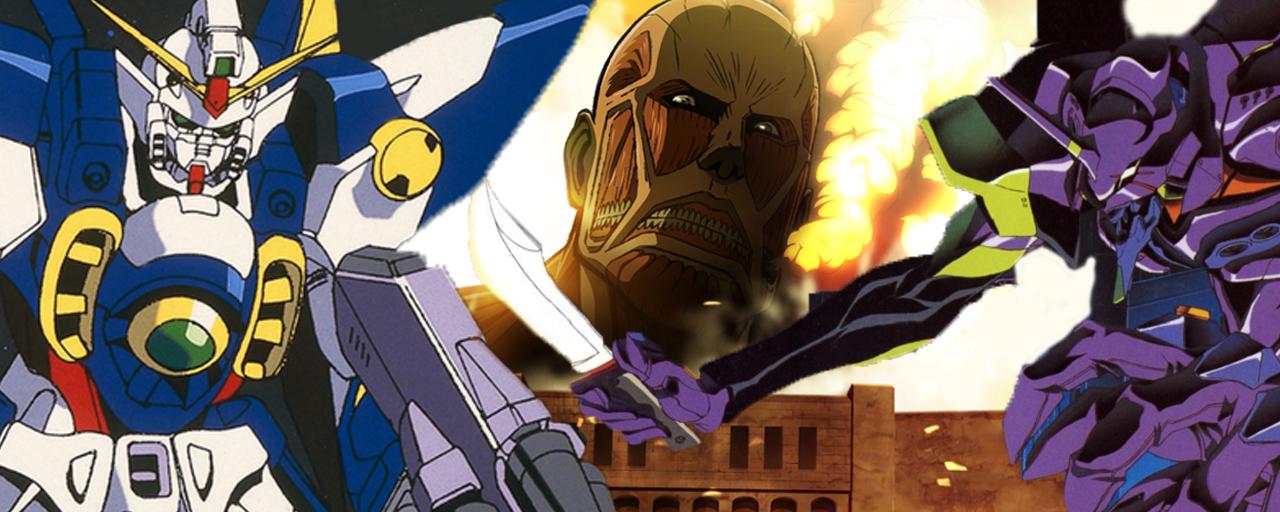 L'Attaque des Titans: l'animé phénomène est-il l'héritier d'Evangelion et de Gundam?
