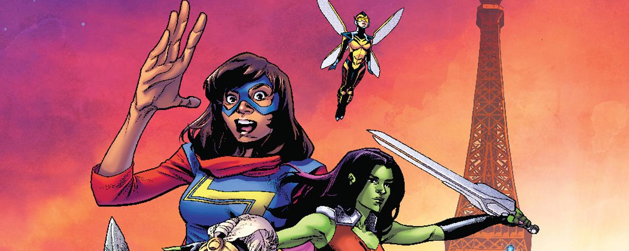 Comic-Con Paris 2018 : Captain Marvel, Black Widow... Girl power sur l'affiche de la 4ème édition