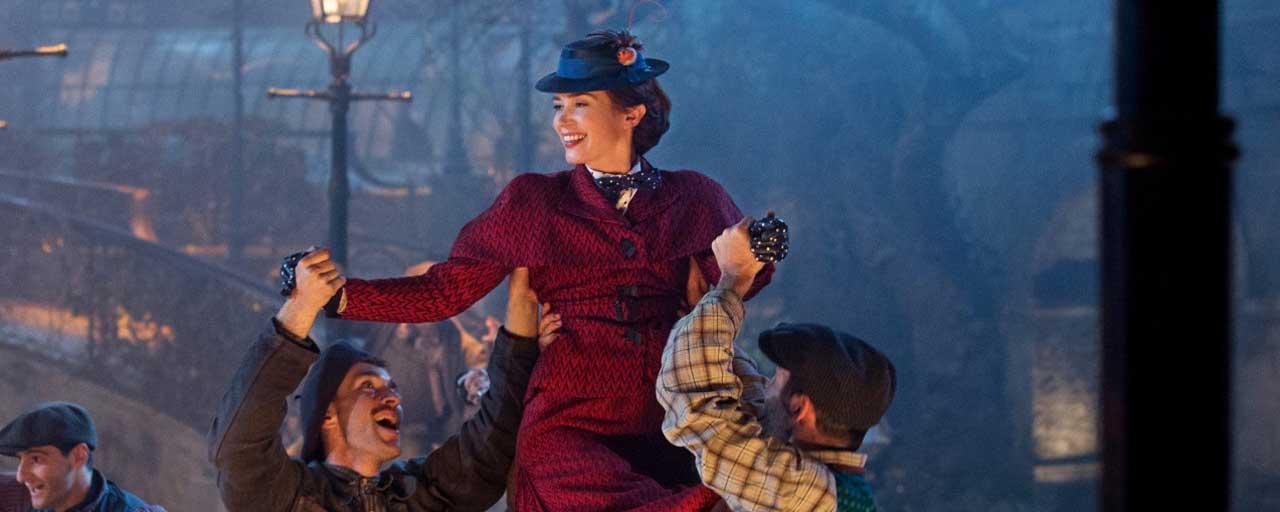 Une nouvelle bande-annonce colorée pour Le retour de Mary Poppins avec Emily Blunt