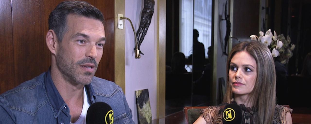 """Take Two sur France 2 : """"Ce n'est pas une série policière qui se prend au sérieux"""", selon Rachel Bilson et Eddie Cibrian [INTERVIEW]"""