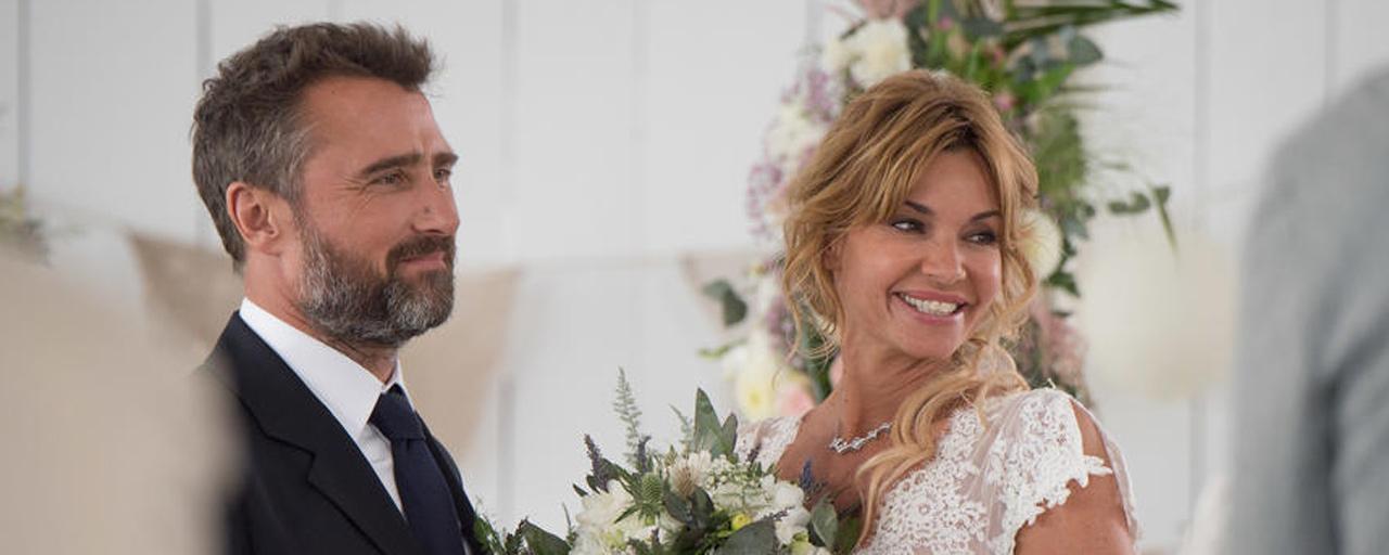 Demain nous appartient : notre reportage dans les coulisses du mariage événement de Chloé et Alex [VIDEO]