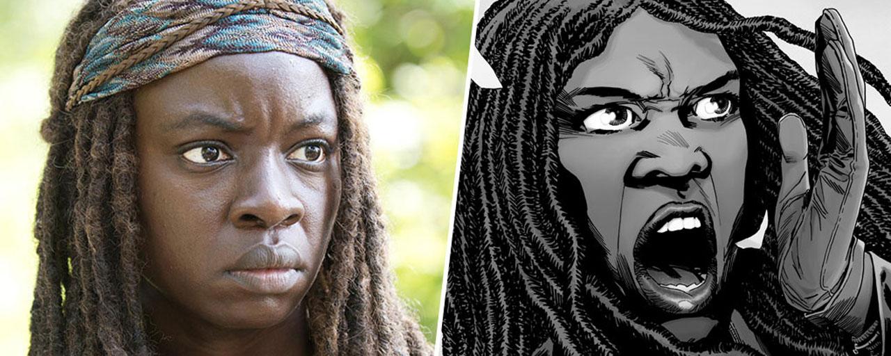 The Walking Dead : à quoi ressemblent-ils dans les comics ?