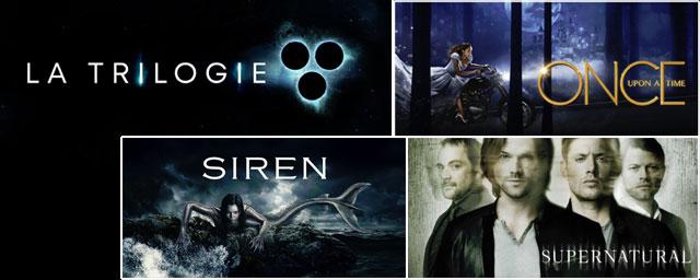 La Trilogie de retour sur 6ter avec Siren, Once Upon a Time et Supernatural