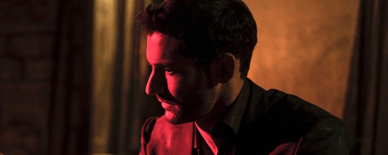 Lucifer face à Eve sur l'une des premières photos de la saison 4
