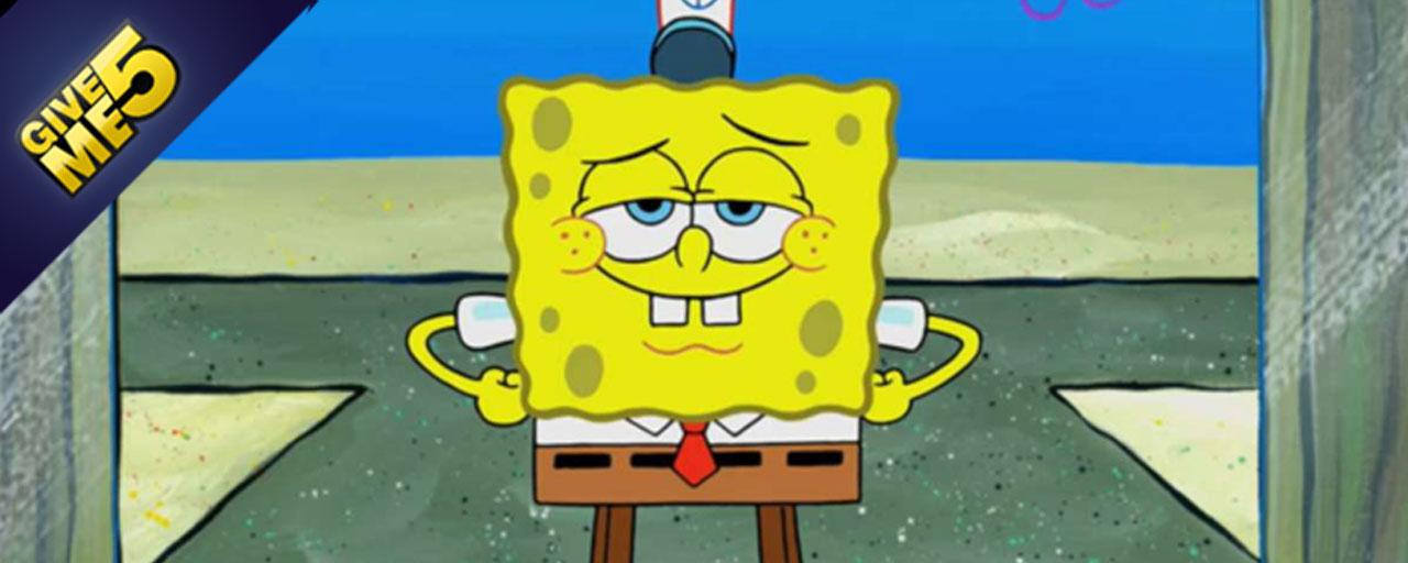 Bob l 39 ponge 5 choses savoir sur le h ros de bikini bottom news s ries la tv allocin - Basket bob l eponge ...