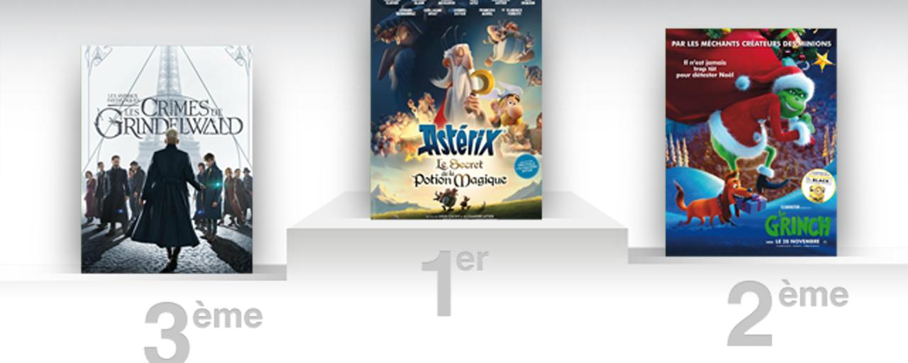 Box office france alexandre astier et son nouvel asterix sont irr ductibles allocin - Allocine box office france ...
