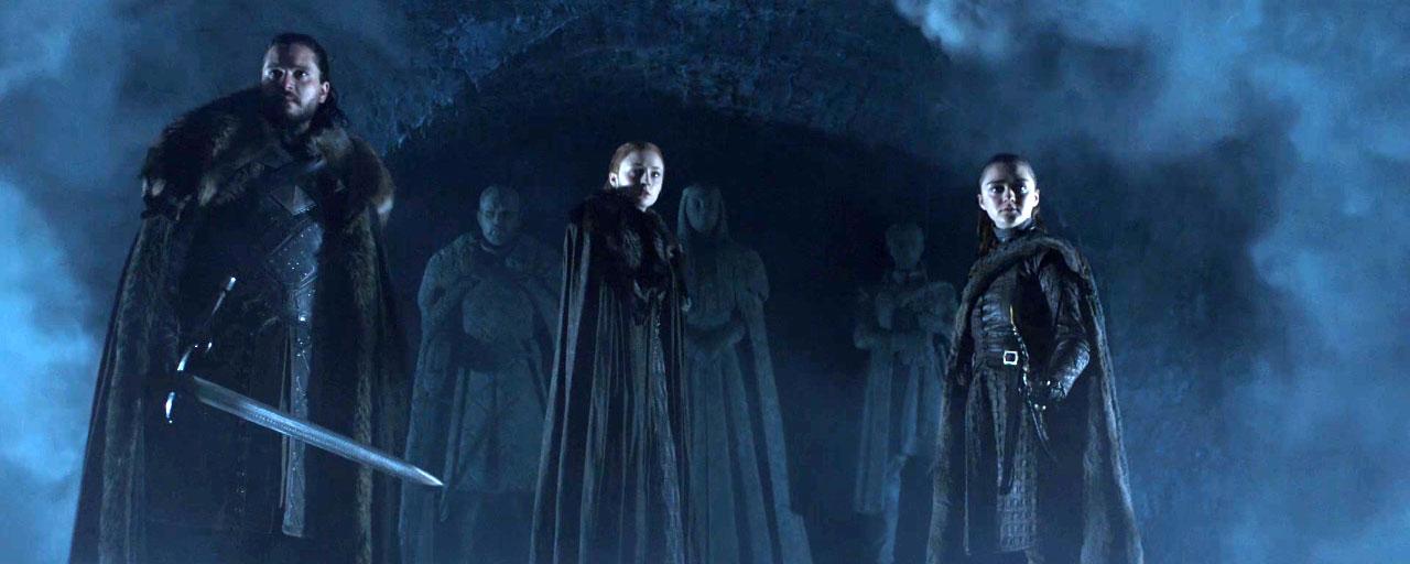 Game of Thrones : les Stark répondent à l'appel de leurs aïeux dans le nouveau teaser de la saison 8