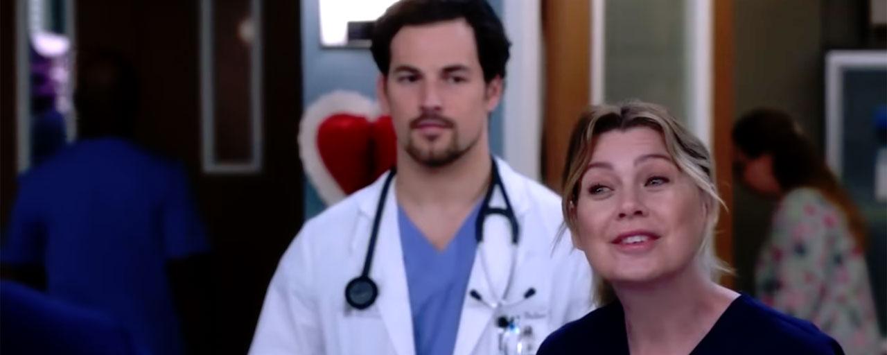 Grey's Anatomy saison 15 : le triangle amoureux au cœur de bande-annonce des épisodes à venir