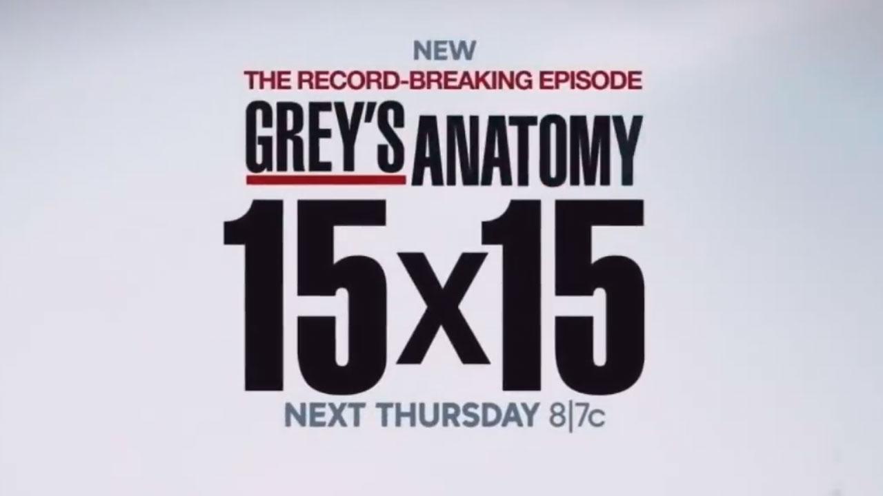Grey's Anatomy saison 15 : la série fête son record de longévité dans le teaser de l'épisode 15