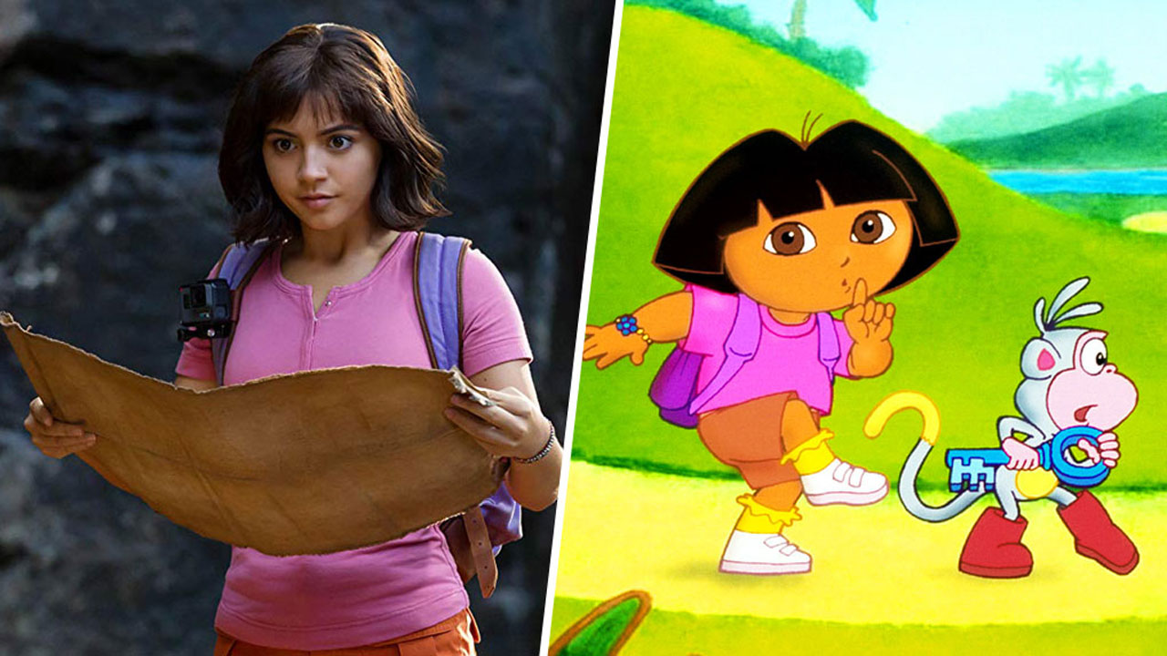 Dora, Nicky Larson... 12 héros animés incarnés par des stars