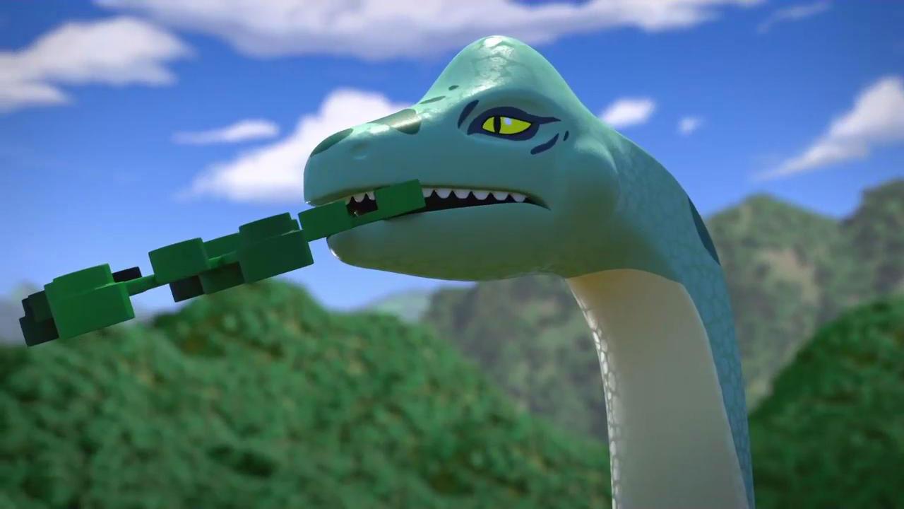 Jurassic World : premières images de la série prequel LEGO