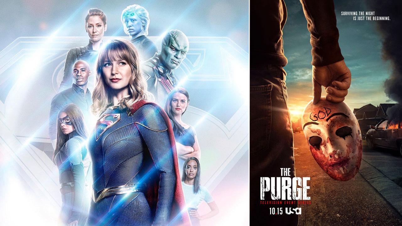 Supergirl, The Purge, Charmed... Les affiches séries de la semaine !