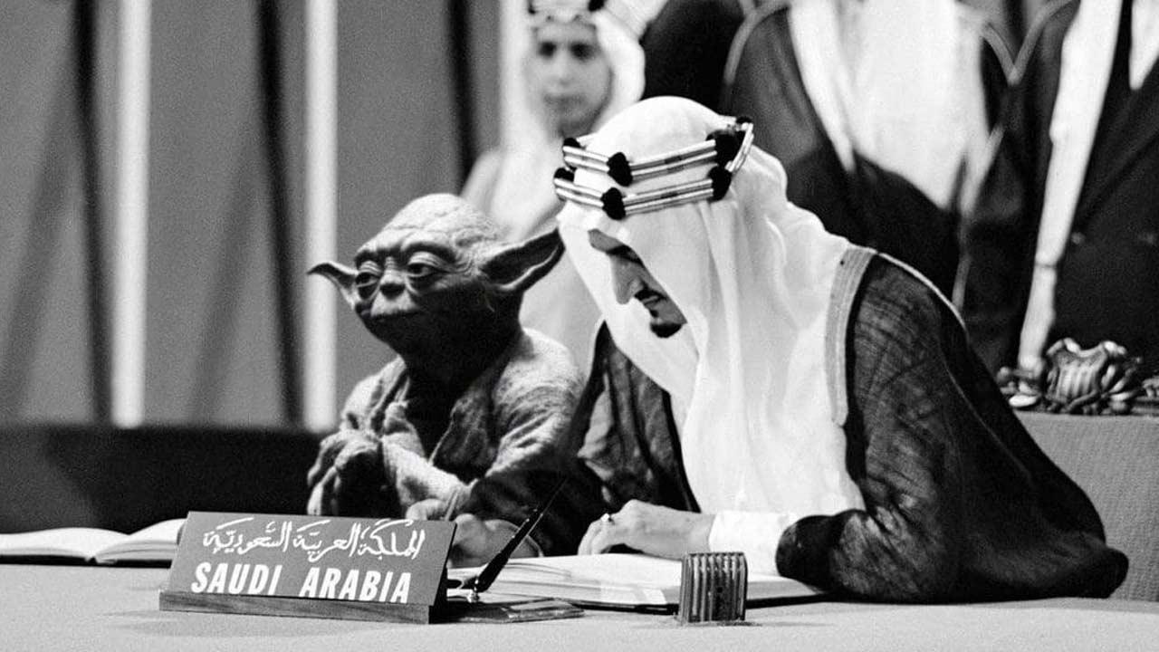 Saviez-vous que Yoda avait participé à la création de l'ONU... Selon l'Arabie Saoudite ?
