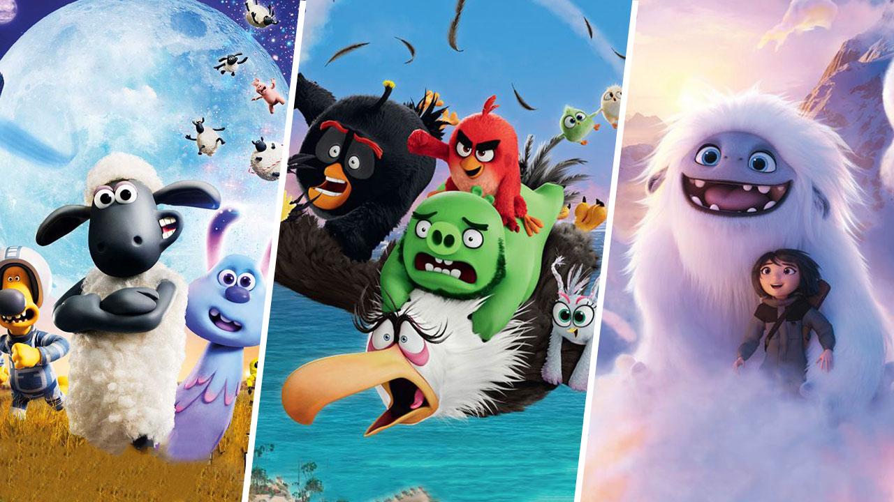 Quels films voir avec les enfants pendant les vacances :  Abominable, Shaun le Monton 2, Angry Birds 2...