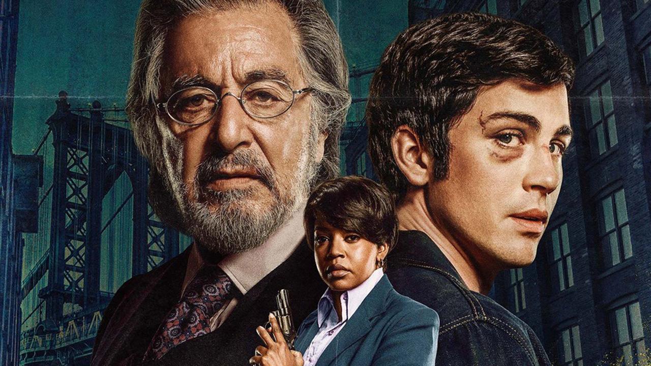 Hunters sur Amazon Prime : affiches d'Al Pacino et ses chasseurs de nazis