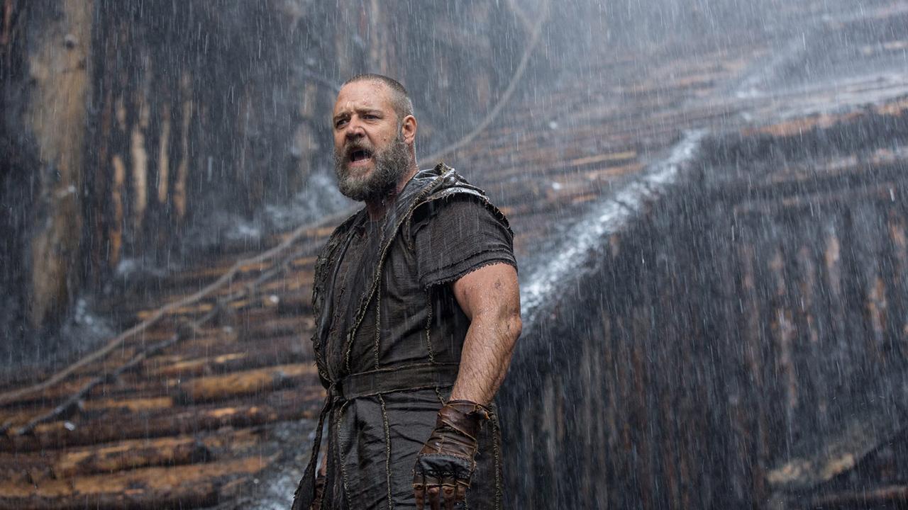 Noé sur France Ô : Russell Crowe en danger, tournage interrompu... Un film qui s'est fait dans la douleur