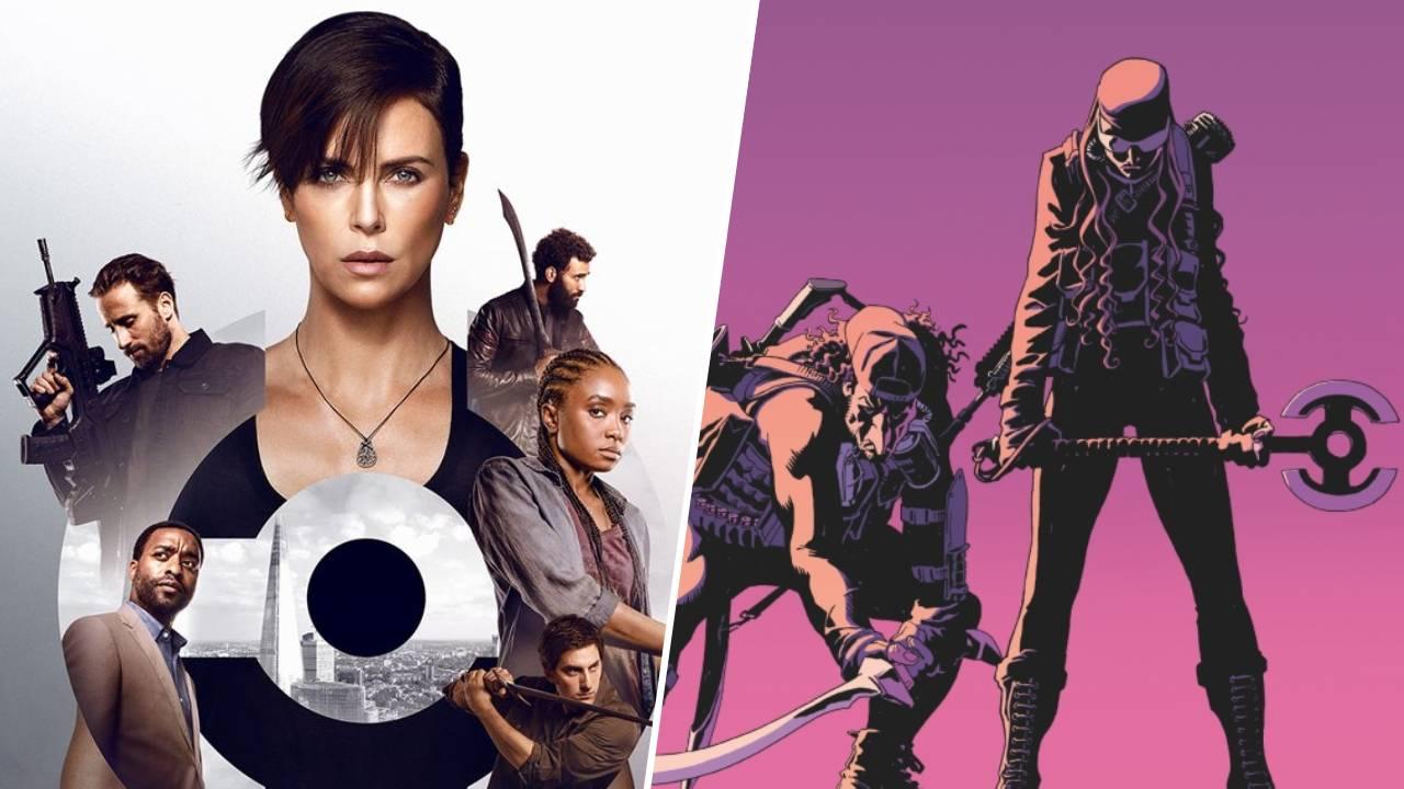 The Old Guard (Netflix) : les comic books qui ont inspiré le film avec Charlize Theron