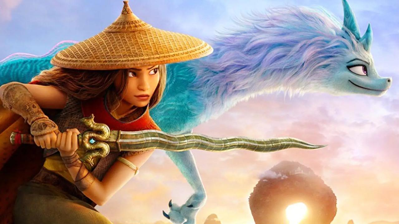 Raya et le dernier dragon sera diffusé en exclusivité sur Disney+