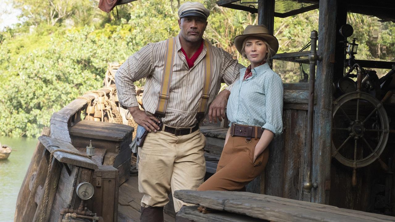 Jungle Cruise : Emily Blunt se confie sur son baiser avec Dwayne Johnson