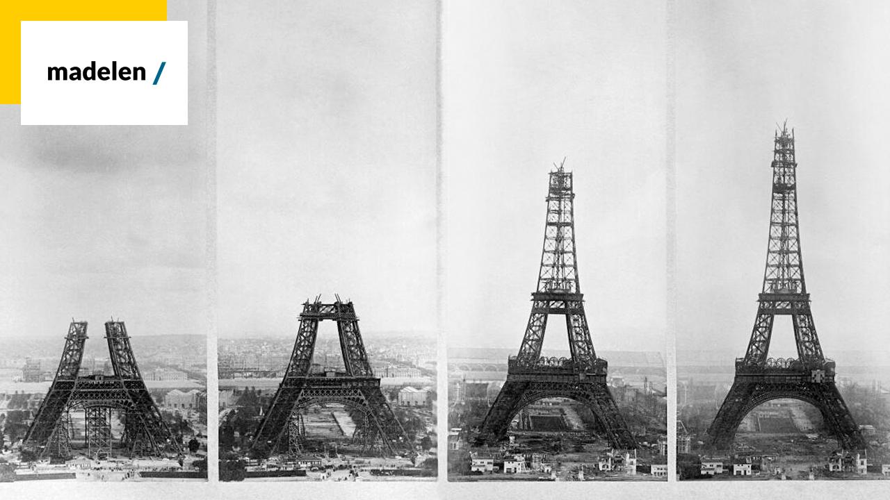 madelen : des images d'archives incroyables de la Tour Eiffel à voir sur la plateforme