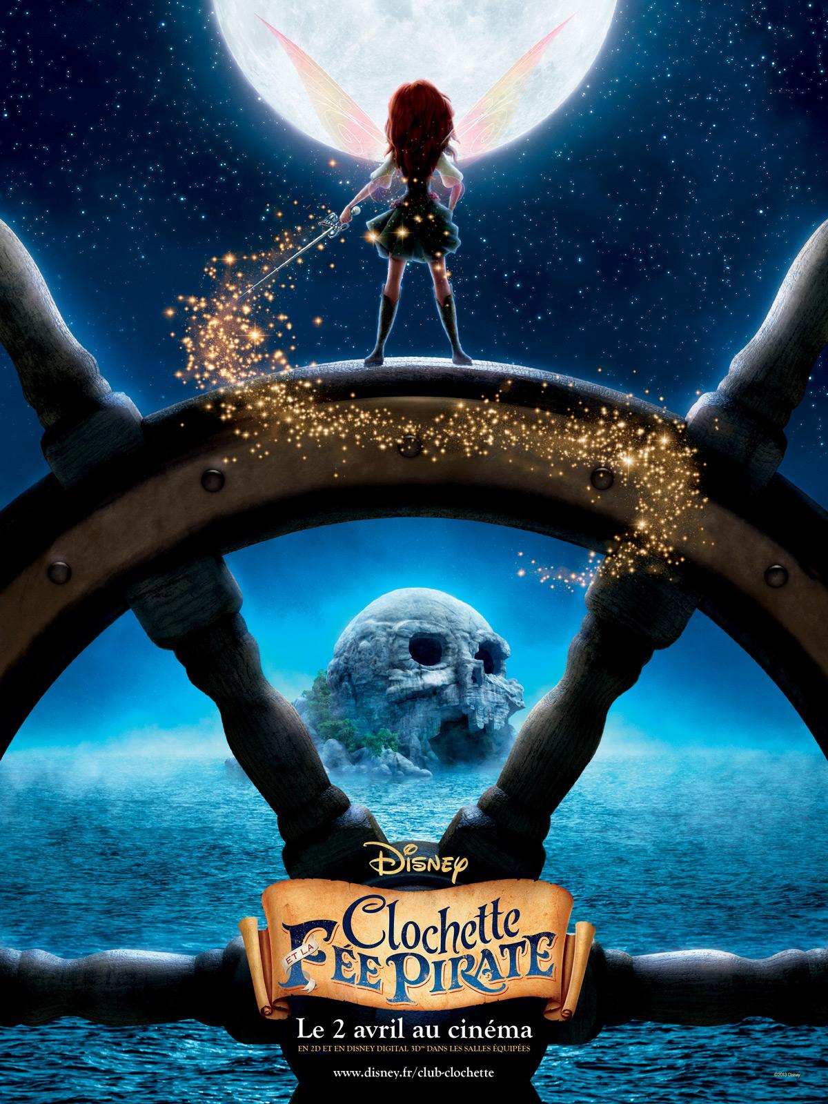 Affiche du film clochette et la f e pirate affiche 2 sur 2 allocin - Fee clochette et les pirates ...