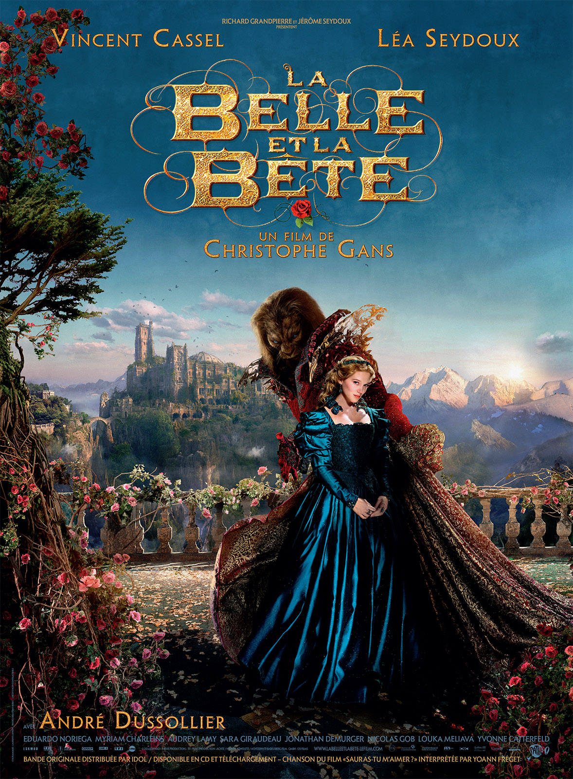 affiche du film la belle et la b te affiche 2 sur 4 allocin. Black Bedroom Furniture Sets. Home Design Ideas