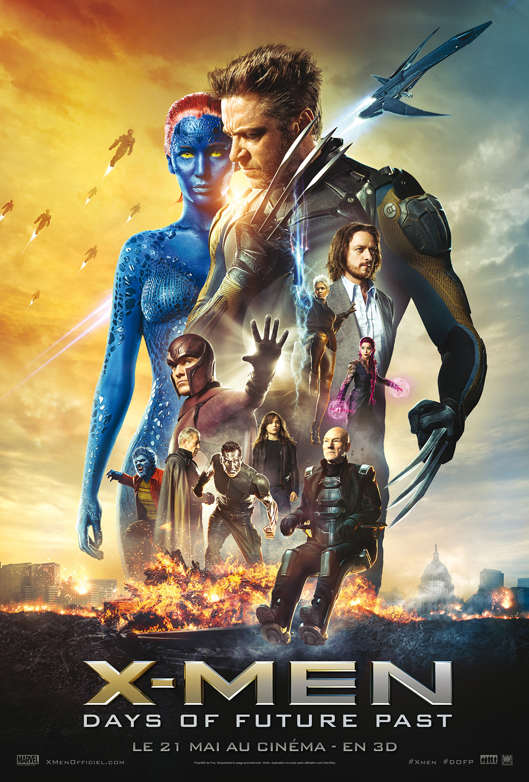 X-Men: Days of Future Past | Multi | BRRiP | FRENCH | 2014