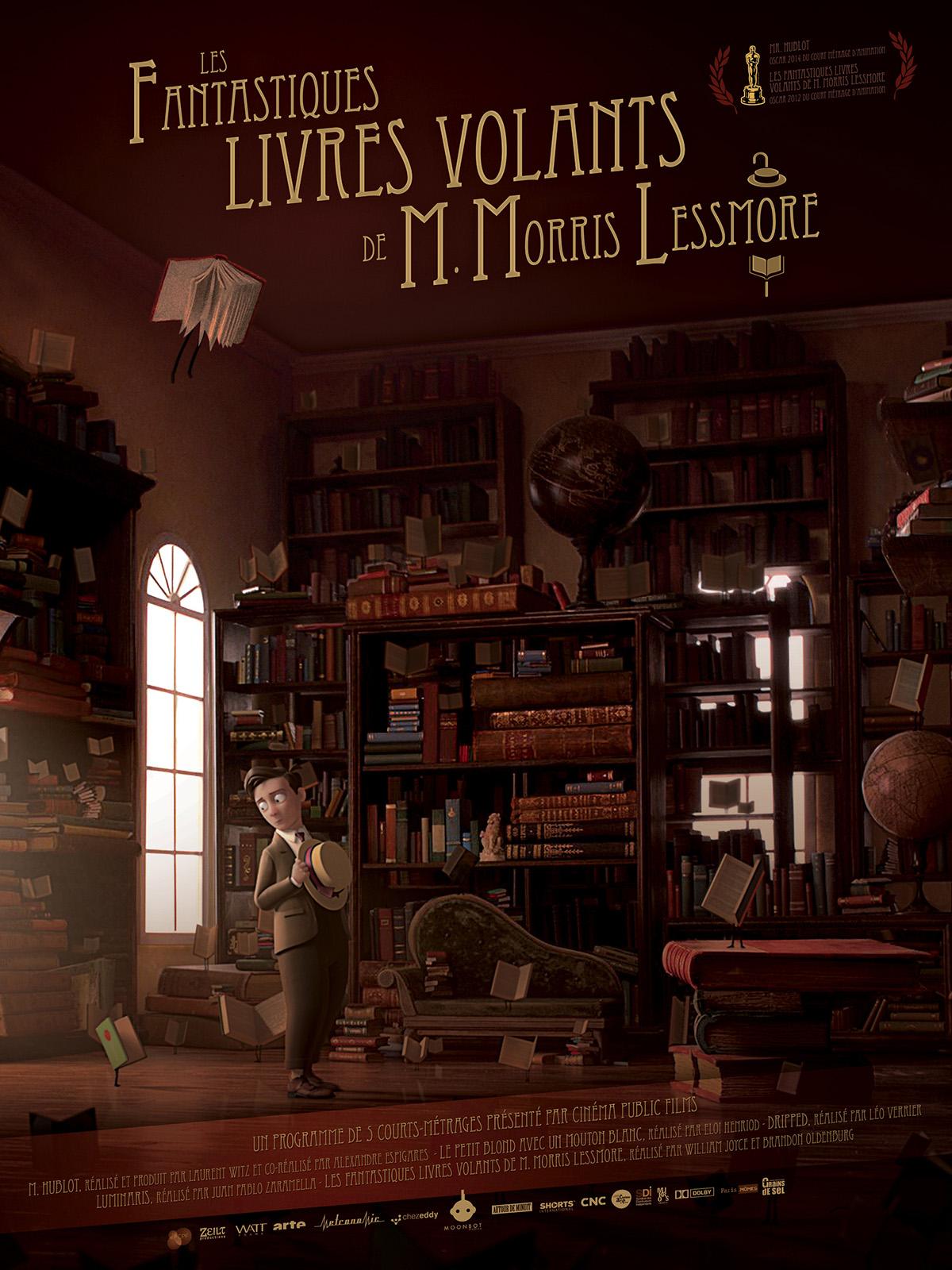 ... livres volants de M. Morris Lessmore - film 2011 - AlloCiné