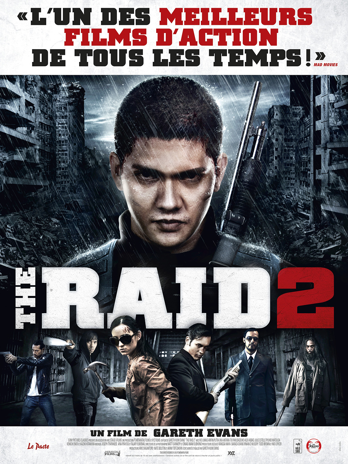 The Raid 2 - film 2014 - AlloCiné