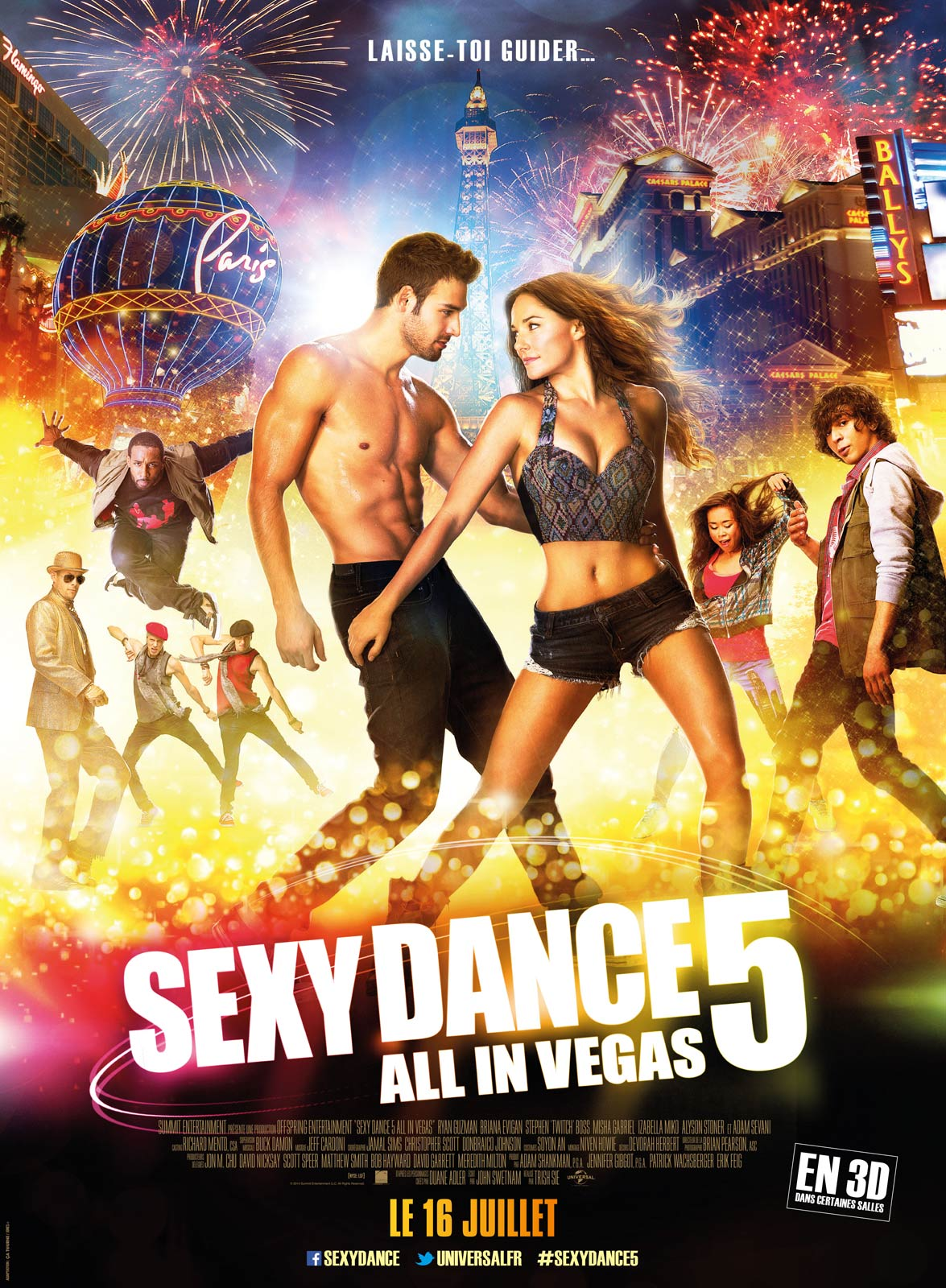 Sexy Dance 5 - All In Vegas | Multi | 2CD | TrueFrench | HDRip | 2014