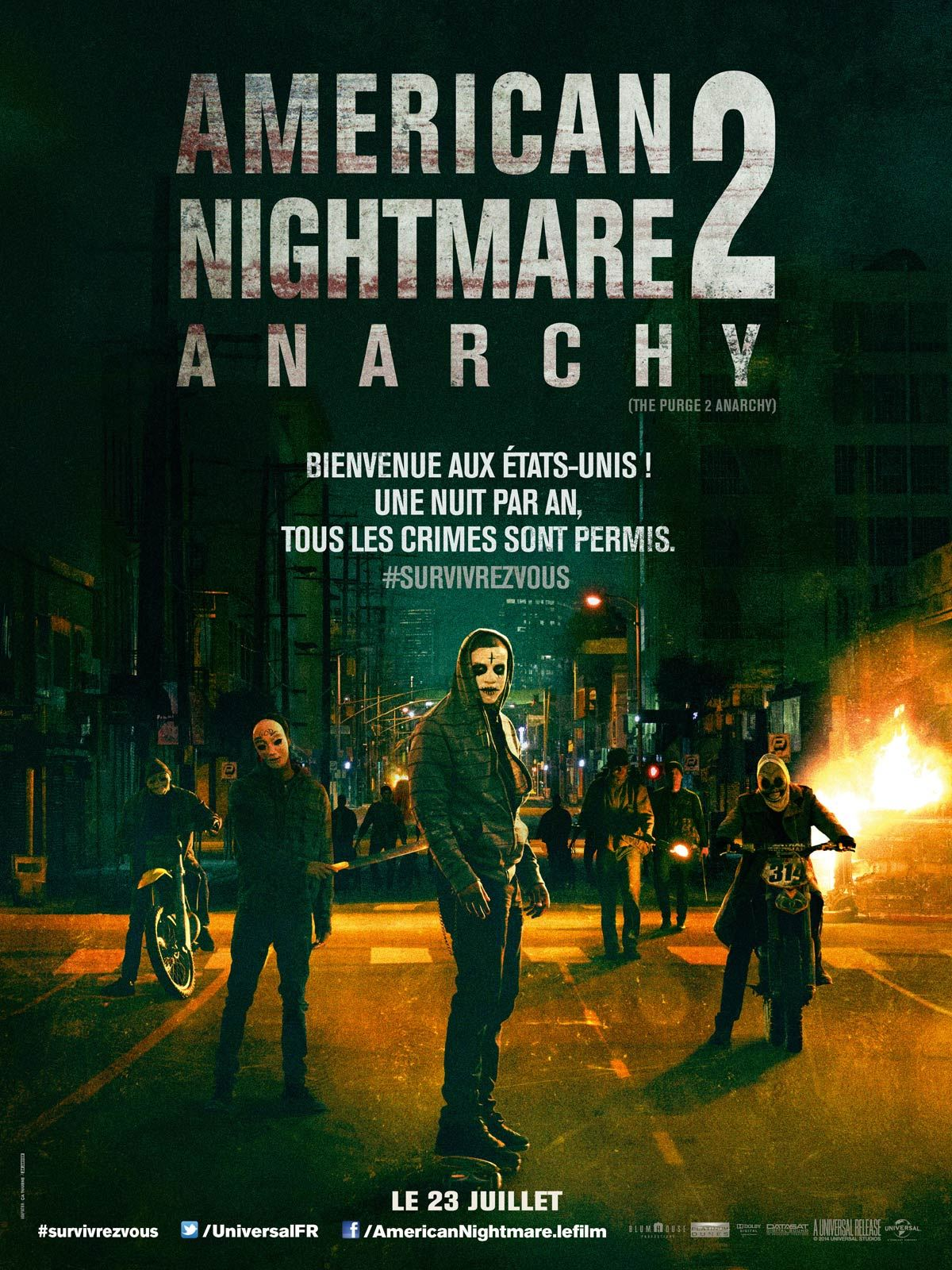American Nightmare 2 : Anarchy | Multi | BDRiP