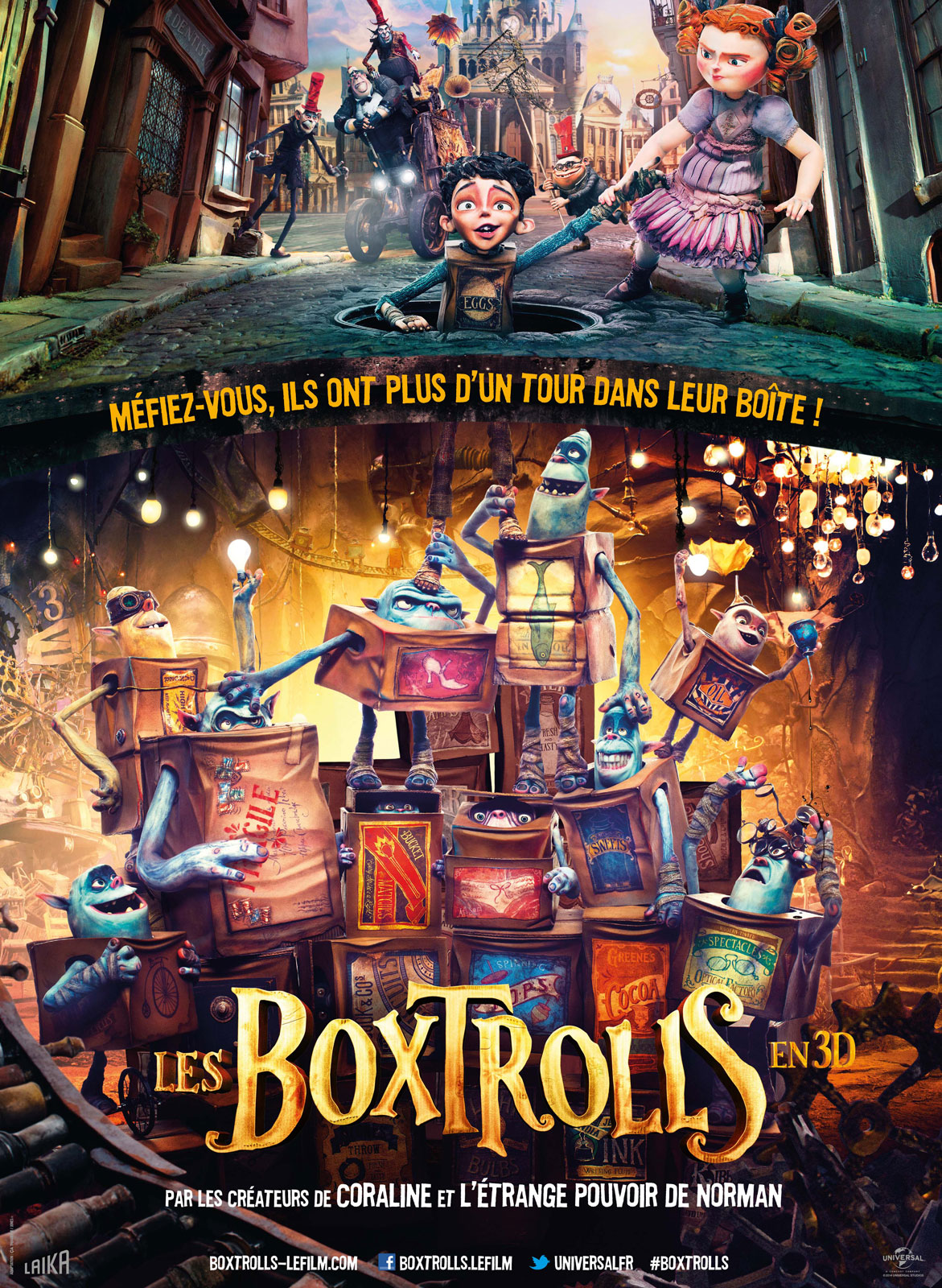Les Boxtrolls streaming