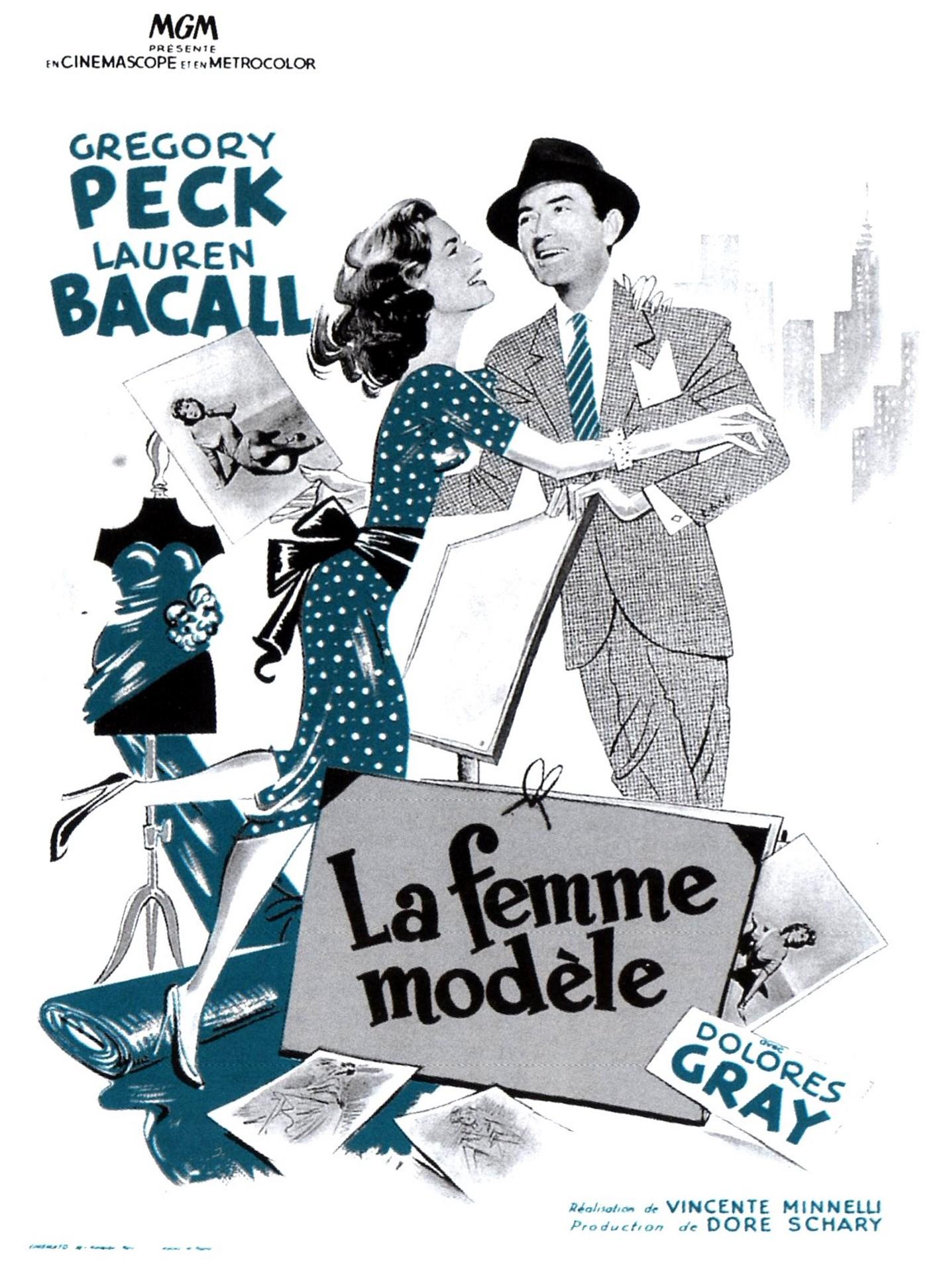 la femme mod u00e8le - film 1957