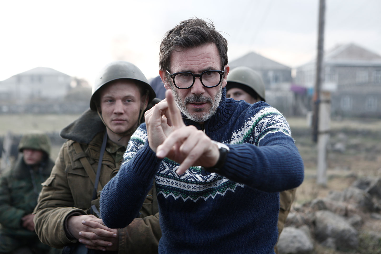 ... The Search : Photo Maxim Emelianov, Michel Hazanavicius ...
