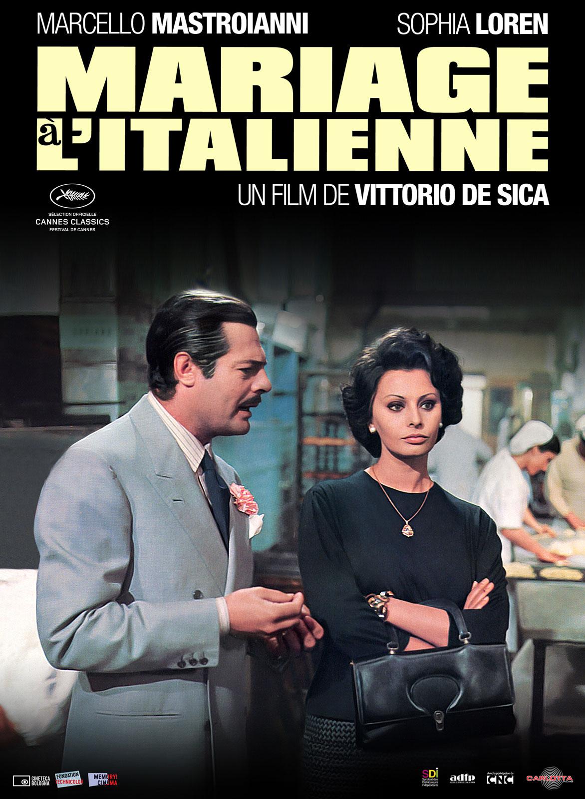 mariage l 39 italienne film 1964 allocin. Black Bedroom Furniture Sets. Home Design Ideas