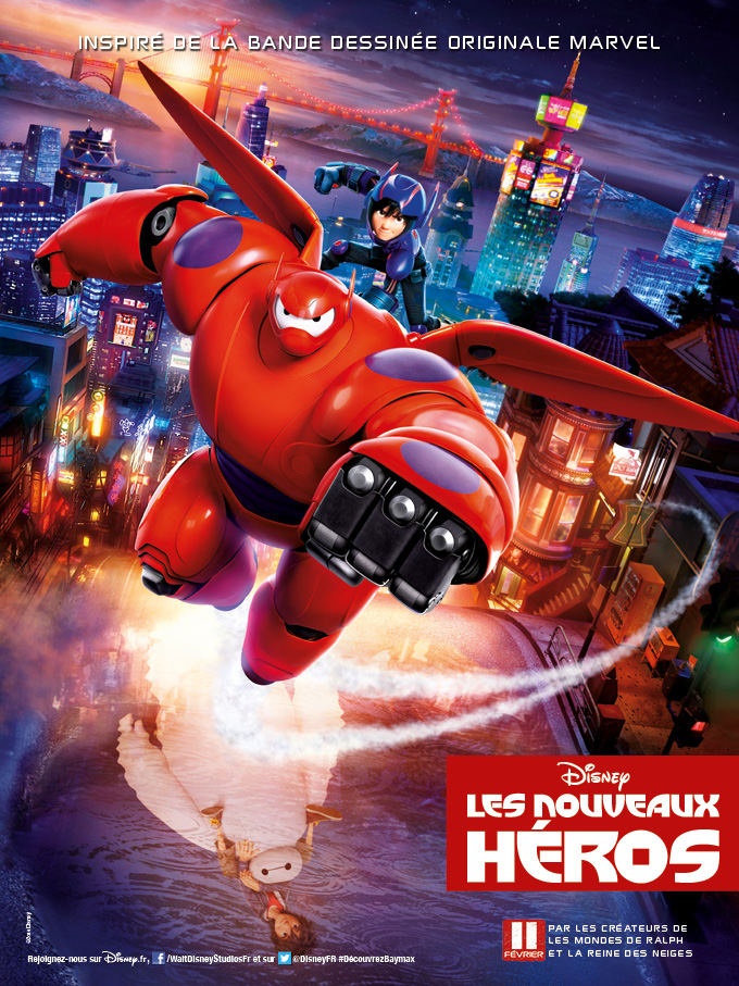 Big Hero 6 Movie Poster Baymax