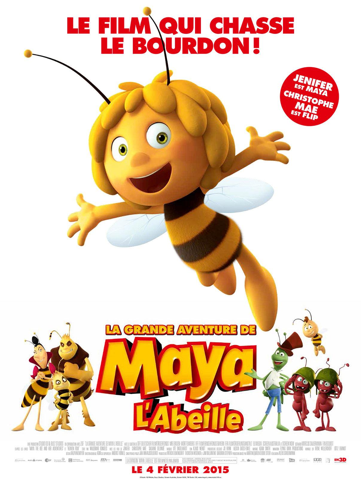 Image La Grande aventure de Maya l'abeille