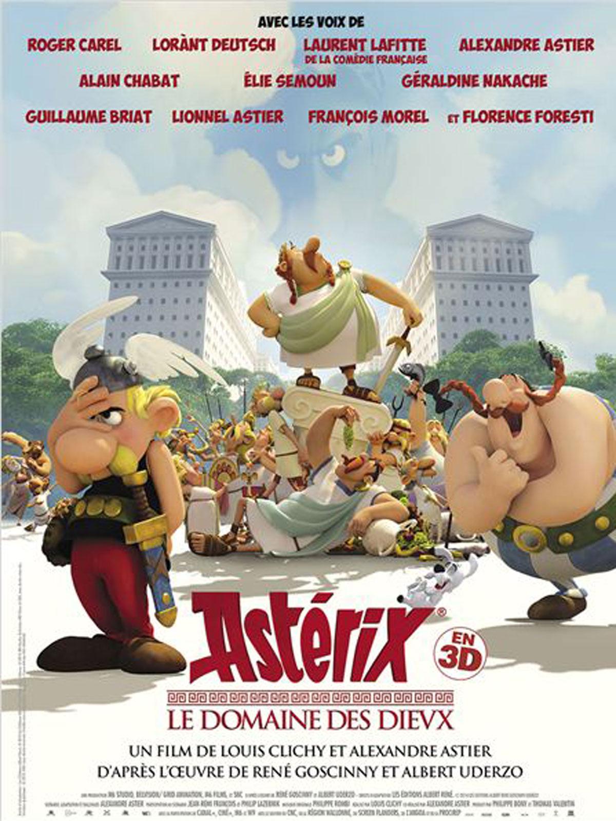 Astérix - Le Domaine des Dieux streaming