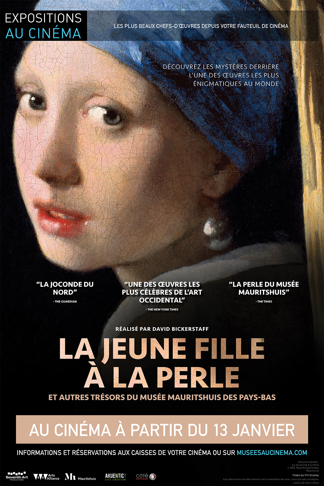 La jeune fille à la perle Vermeer (Côté Diffusion)