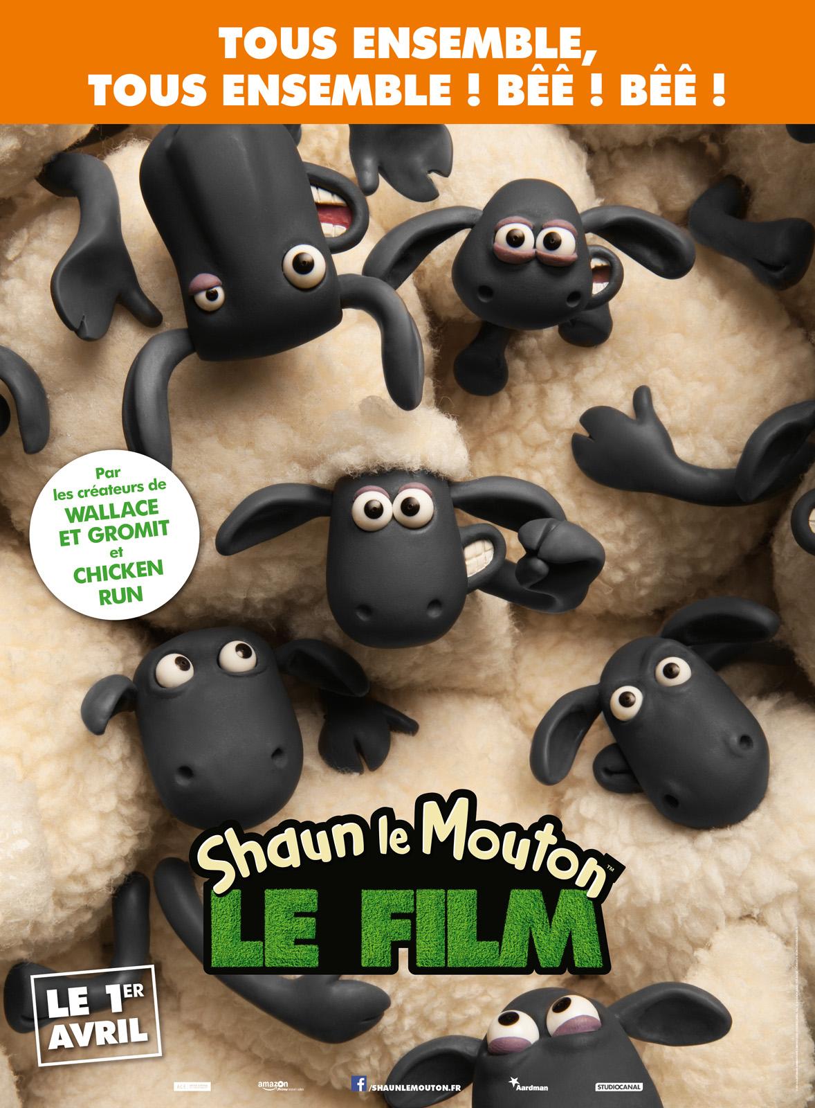 dessin animé shaun the sheep