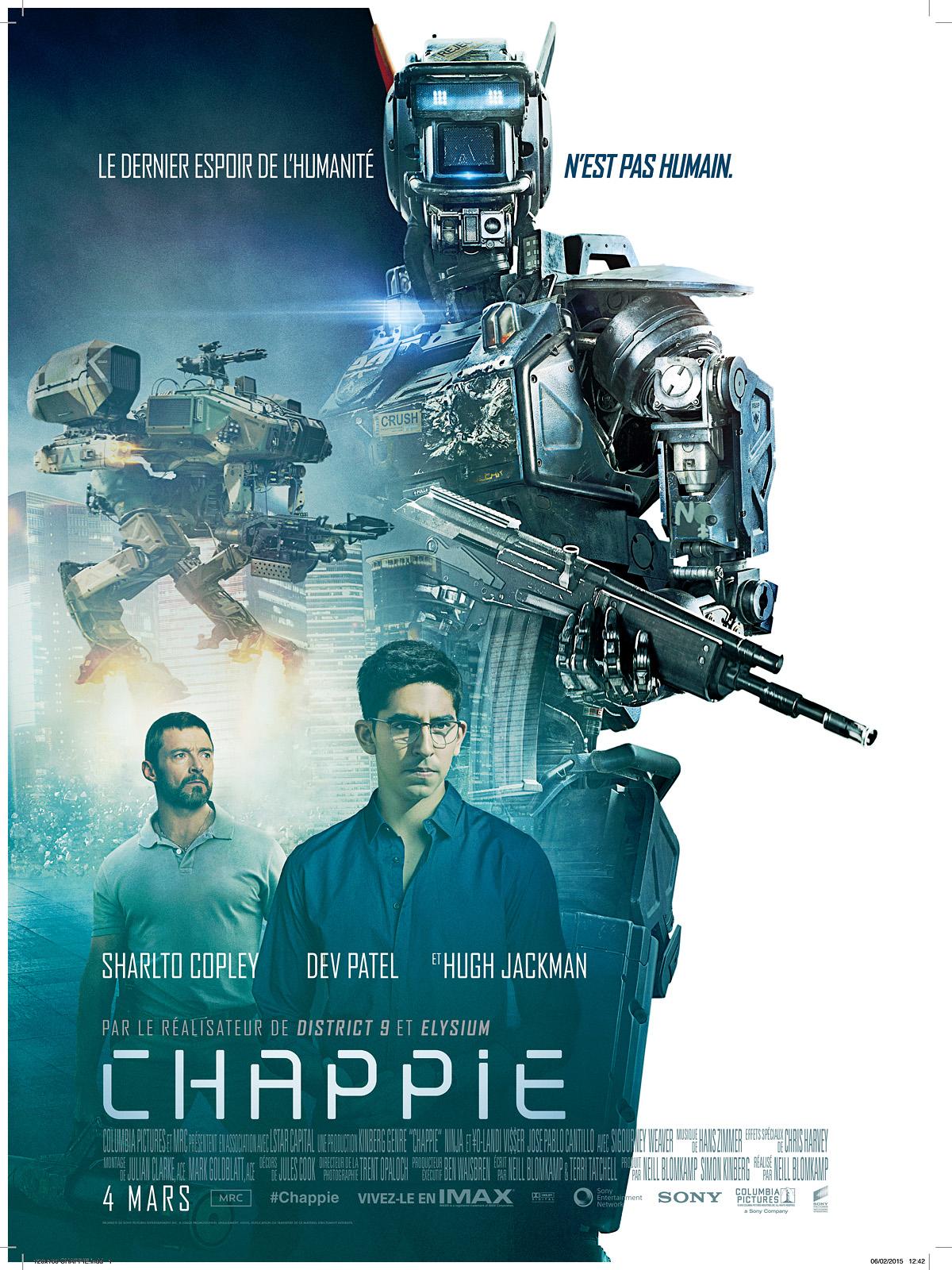 chappie film 2015 allocin - Affiche Garcon Robot