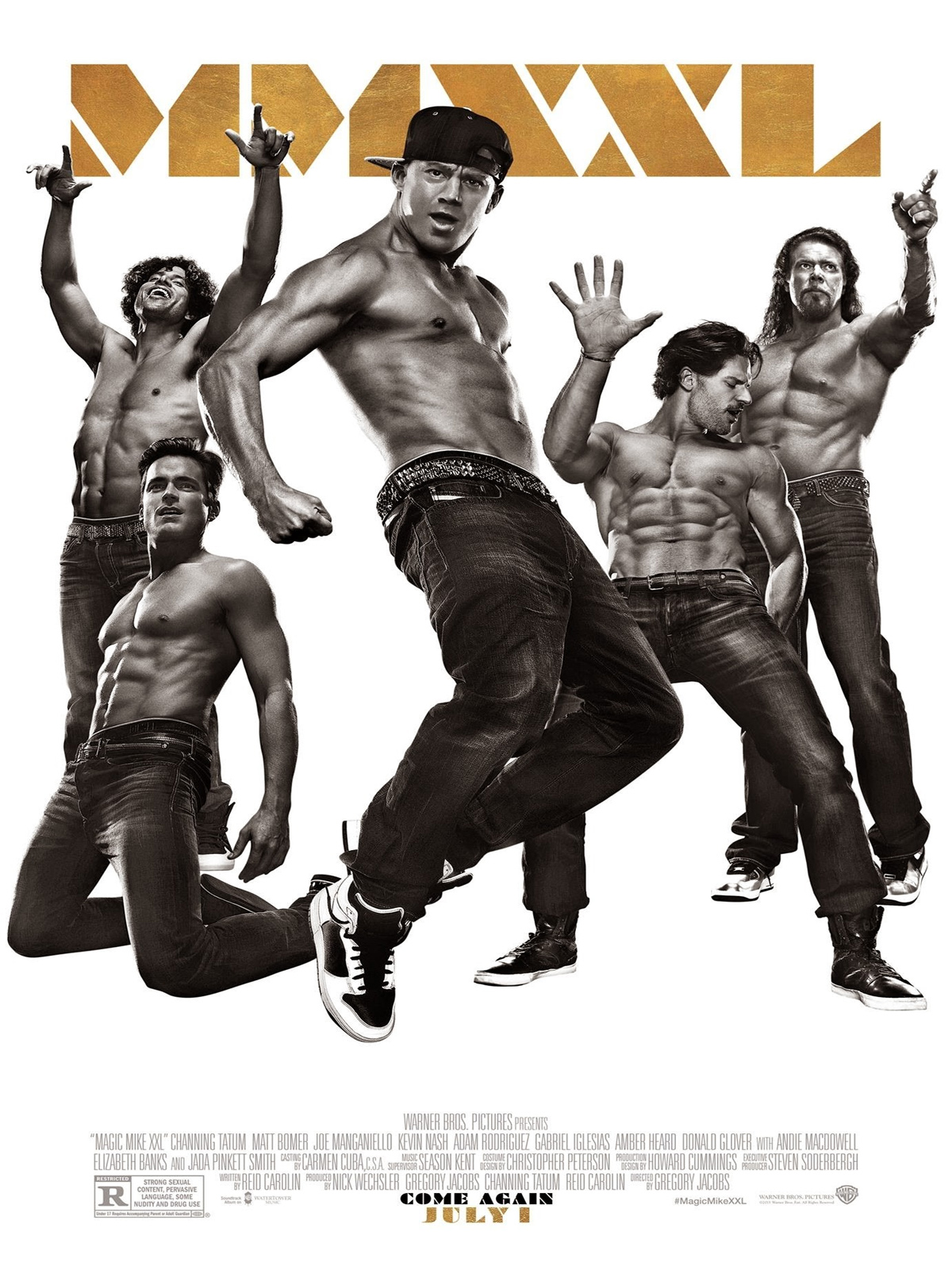 magic mike xxl film 2015 allocin. Black Bedroom Furniture Sets. Home Design Ideas