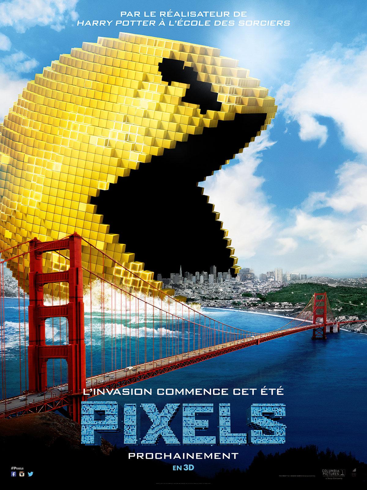 affiche du film pixels affiche 2 sur 6 allocin233