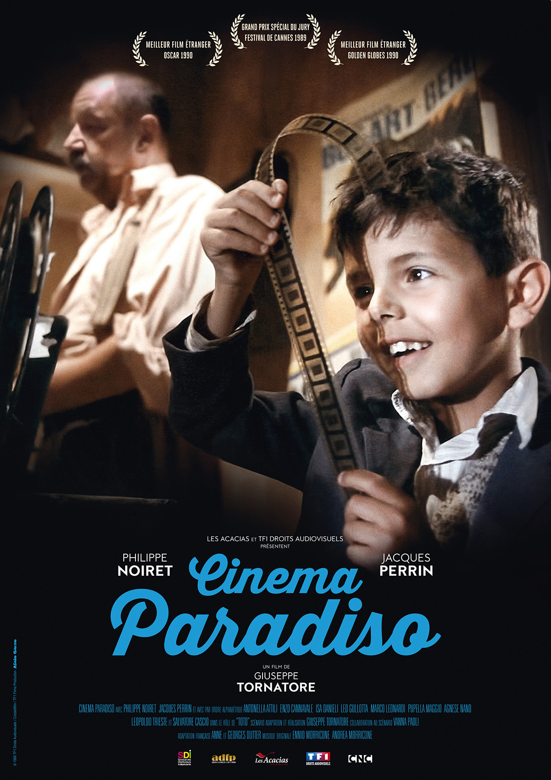 affiche du film cinema paradiso affiche 1 sur 3 allocin. Black Bedroom Furniture Sets. Home Design Ideas
