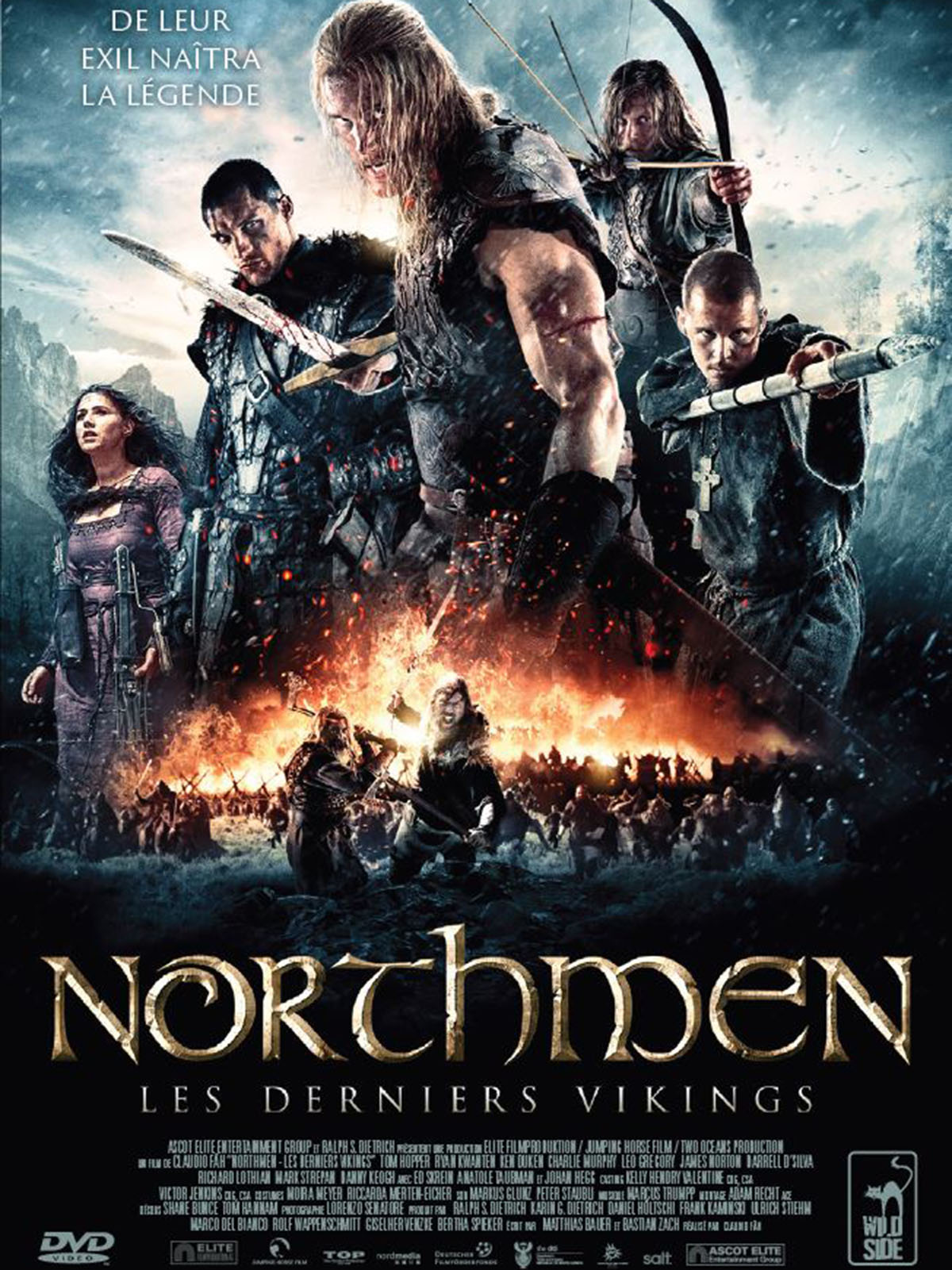 northmen les derniers vikings film 2014 allocin. Black Bedroom Furniture Sets. Home Design Ideas