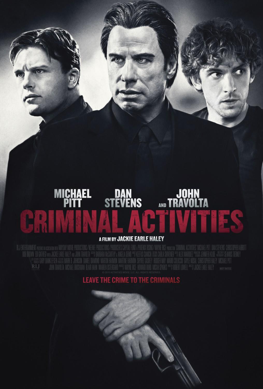 Criminal Activities affiche