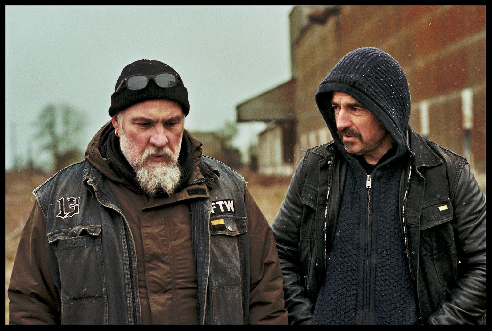 Les Premiers, les Derniers : Photo Albert Dupontel, Bouli Lanners